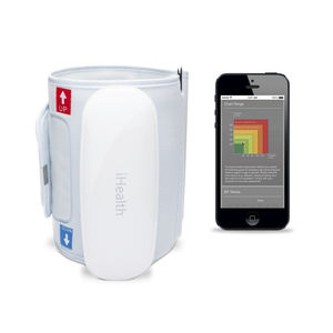 general medicine blood pressure monitor / automatic / arm / iOS-equipped