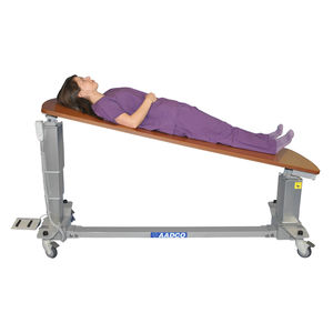 mobile X-ray table / height-adjustable / tilting