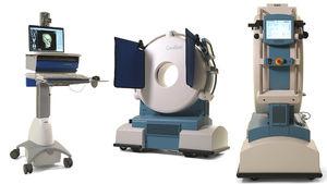 CT scanner / for cranial tomography / 8-slice / mobile