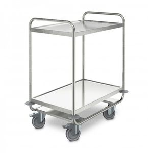 transport trolley / for general purpose / with shelf / medical