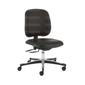 office chair / on casters / height-adjustable
