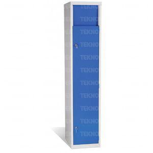 storage locker / for linen / hospital / with door