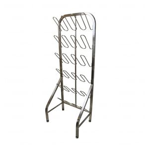 storage rack / for shoes / stainless steel