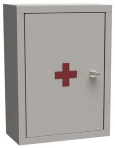 security cabinet / medicine / first aid / hospital