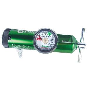 oxygen pressure regulator / adjustable-flow / plug-in type