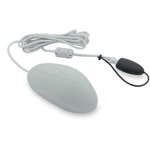 USB medical mouse / scroll button / washable / disinfectable