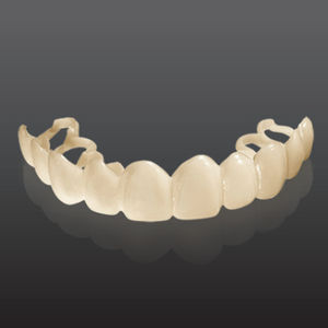 dental veneer material / opaque / white / temporary