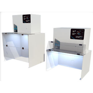 dental laboratory fume hood / containment / benchtop / laminar flow