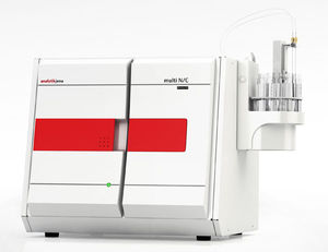 TOC analyzer / for the pharmaceutical industry / benchtop