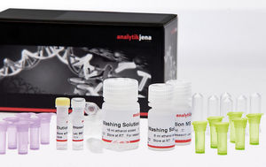 diagnostic reagent kits / for DNA extraction / blood