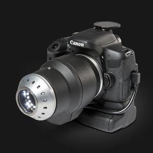 video dermatoscope / white LED / camera-based