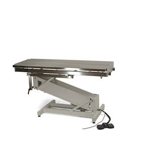 veterinary surgical table / electric / height-adjustable / tilting
