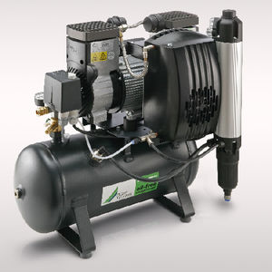 air compressor with air dryer