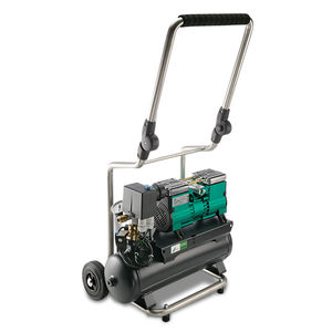 medical air compressor / on casters / oil-free / membrane