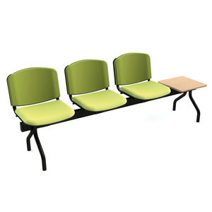 beam chair with table
