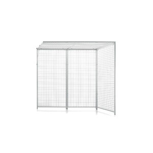 3-panel Rocher cage