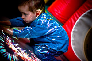 virtual rehabilitation system with holographic interface / children