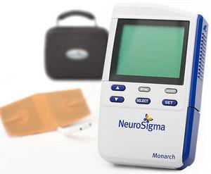 transcutaneous neurostimulator / for vagus nerve stimulation