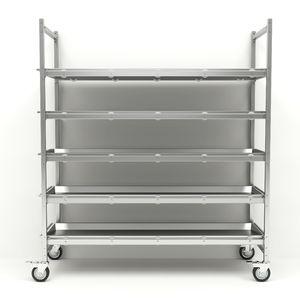 5-shelf shelving unit