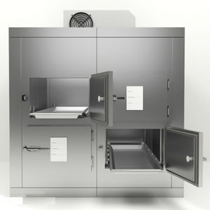 4-body refrigerated mortuary cabinet