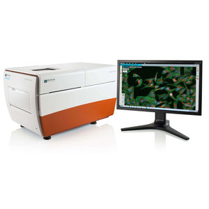 automated cell imaging system / laboratory / fluorescence / 3D
