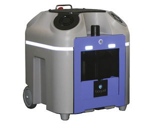 steam disinfection system / hydrogen peroxyde / mobile / automated