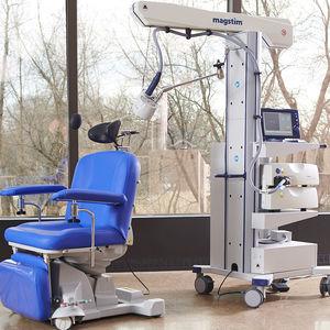 TMS + rTMS transcranial magnetic stimulator