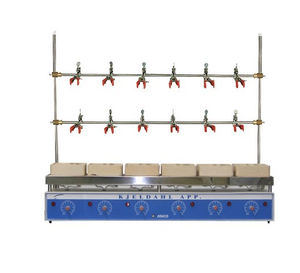analog laboratory heating multi-mantle