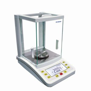 analytical laboratory balance / with LCD display / benchtop / automatic