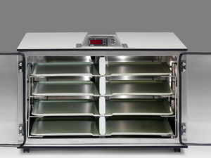 meal cabinet / hospital / with tray / refrigerated