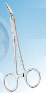 dental surgery forceps / dental fragment / curved