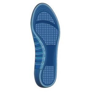 orthopedic insole with plantar pad