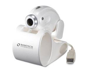 video dermatoscope / white LED / USB / computer-based