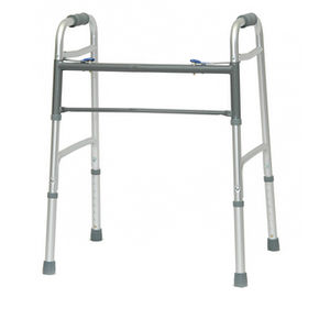 height-adjustable walker / folding / bariatric