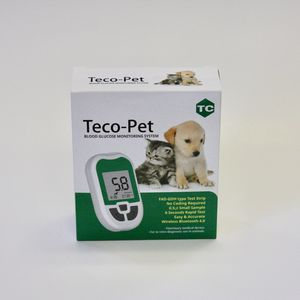 veterinary blood glucose monitor / GDH / wireless / no coding
