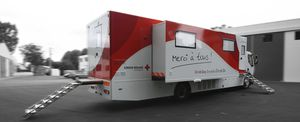 blood donation mobile health vehicle