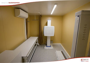 multipurpose radiography mobile radiology room