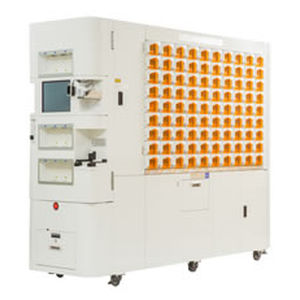 bottle counting-filling machine / for the pharmaceutical industry
