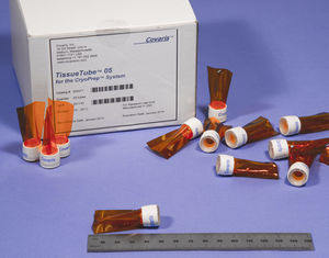 laboratory sample tube / tissue storage / transfer / flat-bottom