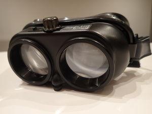 Frenzel goggles