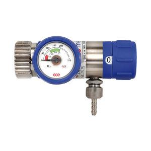 medical gas pressure regulator / with flow selector / adjustable-flow