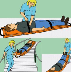 emergency transfer mattress