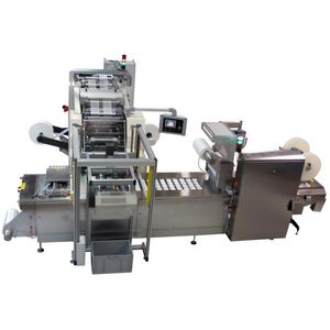 automatic packaging machine / blister / H-FFS / floor-standing