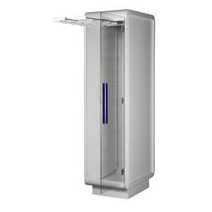 catheter cabinet / hospital / with door / modular