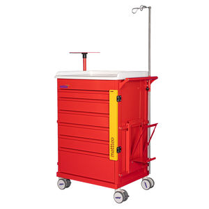 emergency trolley / for general purposes / for medical devices / for consumables