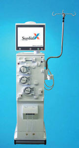 hemodialysis machine with touchscreen