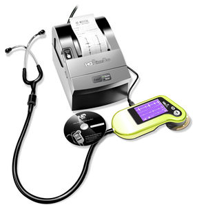 Teaching stethoscope - ViScope® MD - HD Medical Group - electronic / with  multi-parameter monitor