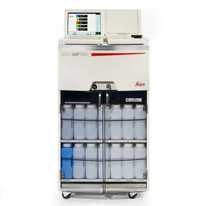 automatic sample processor / for histology / tissue / floor-standing