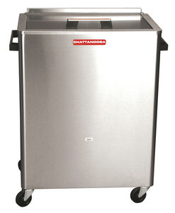 compress heater on casters