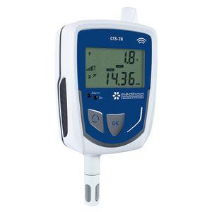 temperature data logger / hygrometry / for temperature traceability / for humidity traceability